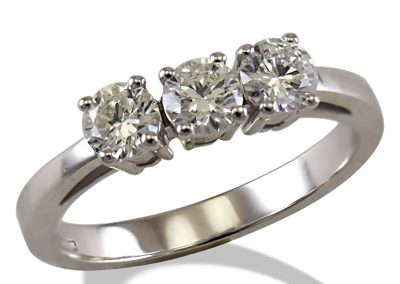 Anelli Trilogy in oro 18Kt e diamanti – a partire da €217
